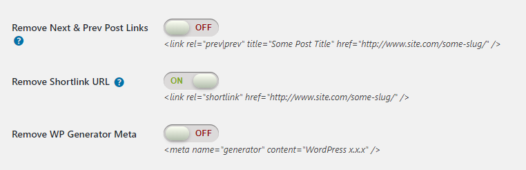 удаление shortlink из WordPress